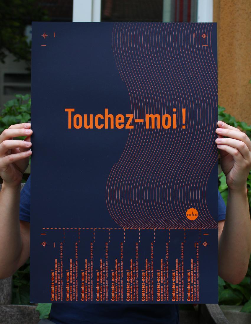TOUCHEZ_MOI_IMPRIMERIE_SERIGRAPHIE_ATELIER_FWELLS_PARIS