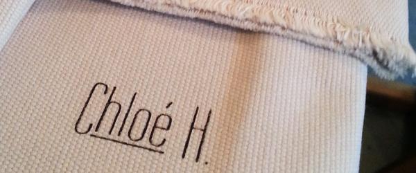 impression sur tissu chloe h. Black Bedroom Furniture Sets. Home Design Ideas