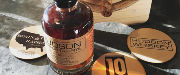 Sous-bocks sérigraphie – Hudson Whiskey