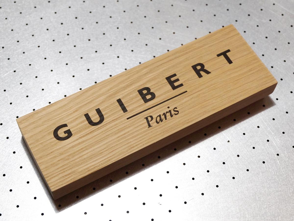 Fwells - Réalisations - Guibert Paris - Sérigraphie sur bois