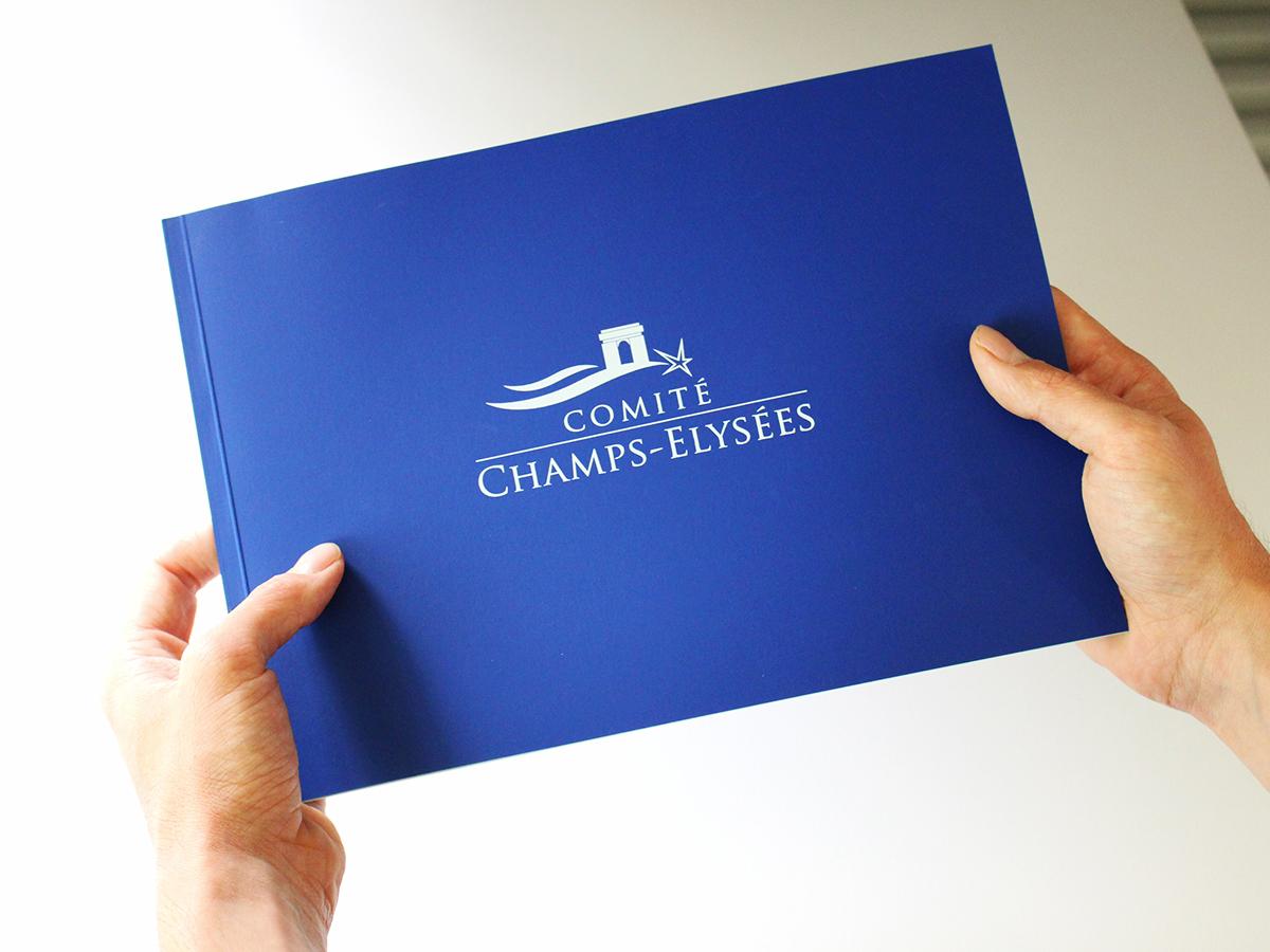 Fwells - Réalisations - book de présentation - Comité Champs-Élysées