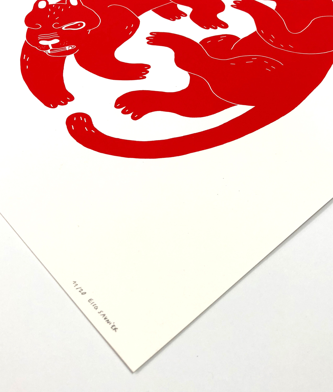 Elsa-Saunier-serigraphie-atelier-fwells-tigre-tirage-art