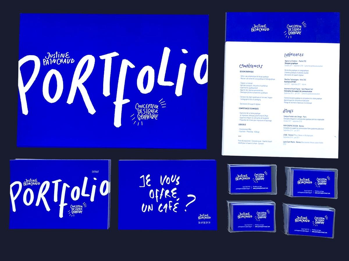 Justine-painchaud-porfolio-graphiste-serigraphie-communication-bleu-electrique