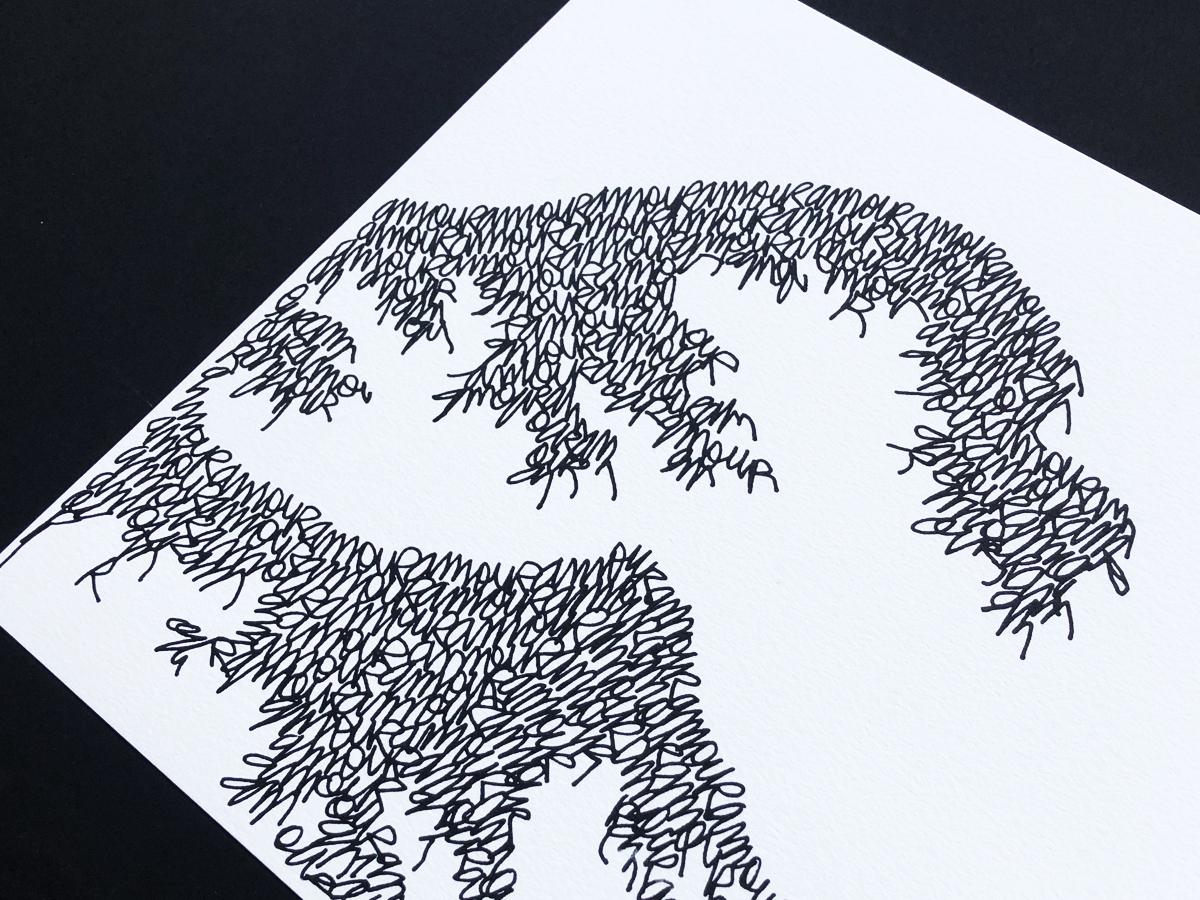 Vague-amour-arthur-simony-hokusai-edition-limitee-paris-BFK-Arches-serie-limitee-serigraphie-fwells